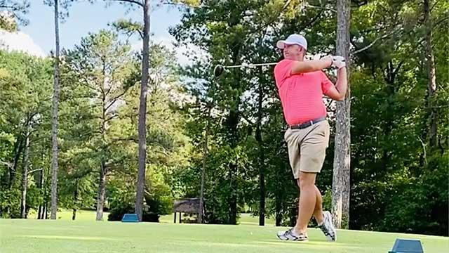 Jonathan Shuskey on the golf course